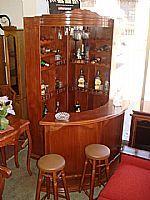 Esquinero con meson mueblesfinos cl for Bar madera esquinero