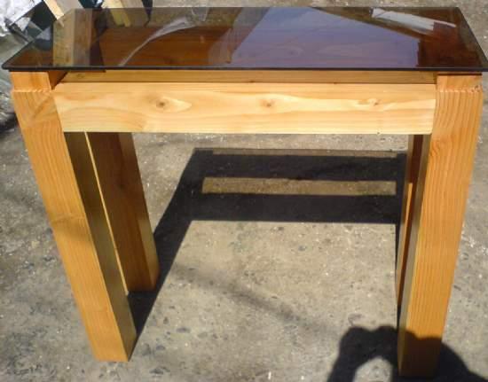 Muebles de terraza comedor para - Mesas terraza madera ...