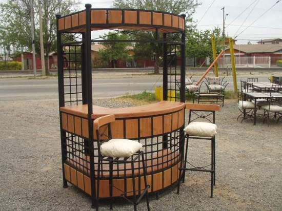 Muebles de terraza comedor para for Sillas para terraza bar