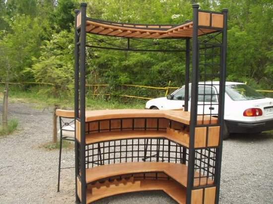 Muebles de terraza comedor para for Muebles de terraza fierro