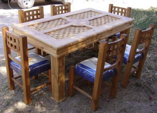 Comedor muebles r sticos para su for Muebles de cocina rusticos modernos