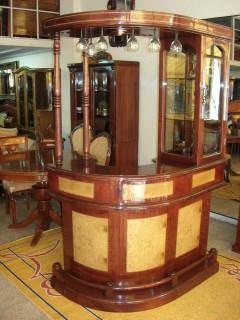 Muebles y mas muebles muebles for Bar rustico de madera