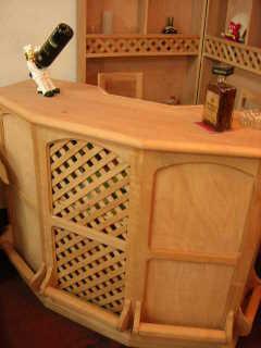 Muebles y mas muebles muebles for Bar de madera chile