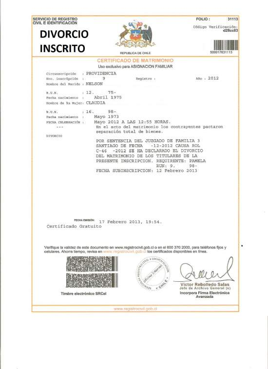 antecedentes penales chile traducido pdf