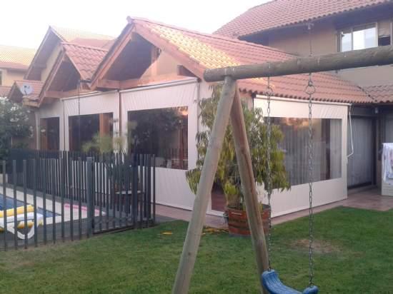 7 cierre de terrazas carpas carpas modulares toldos cortinas for Toldos impermeables