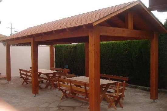 9 porches de madera carpas - Fotos porches rusticos ...
