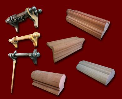 Ver producto - Barra de madera para cortinas ...