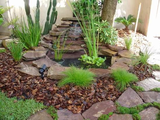 Hidropaisajismo jardin paisajismo reas verdes for Caidas de agua para jardin