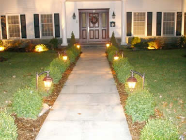 Hidropaisajismo jardin paisajismo reas verdes for Luces para jardin exterior