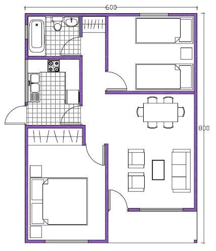 Constructora construcci n - Como hacer un plano de una casa ...