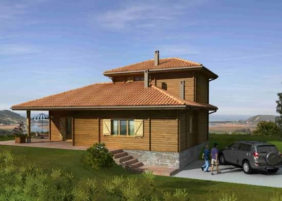 Casas prefabricadas madera casas modulares de madera - Casas de madera prefabricadas monforte del cid ...