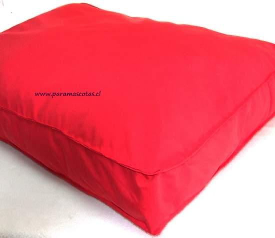 Colchones camas para mascotas cama for Tela exterior impermeable