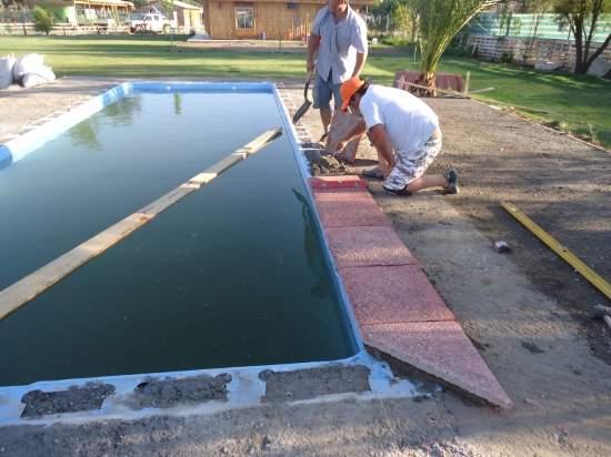 Proceso de construccion for Construccion piscinas chile