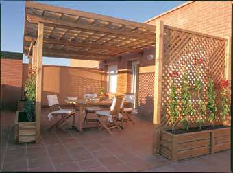 Pergolas y terrazas pergolas terrazas quinchos - Terrazas con pergolas ...