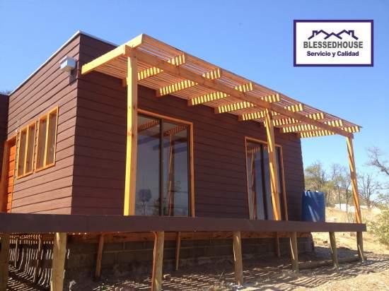 Blessedhouse spa casas prefabricadas casa prefabricada for Terrazas economicas chile