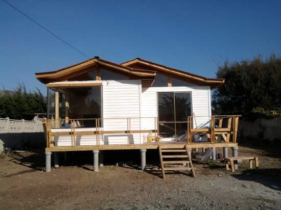 Casas prefabricadas modalidad llave en mano casa for Terrazas economicas chile