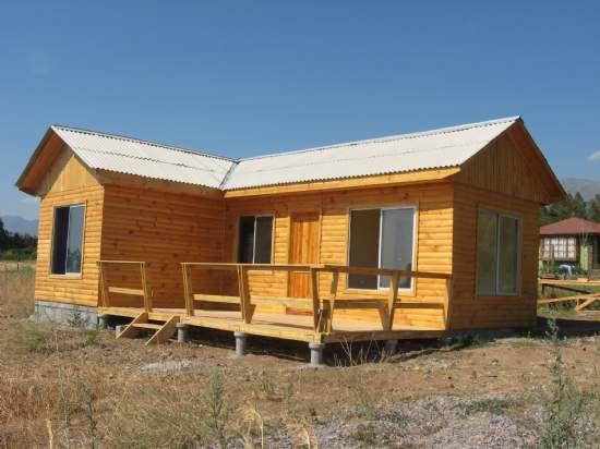 Casas prefabricadas kit basicos for Precios cabanas de madera baratas