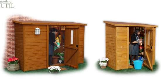 Bodegas para jard n bodegas de for Caseta de madera para jardin