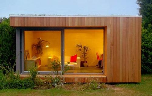 Oficinas modulares bodegas para for Bodegas de jardin