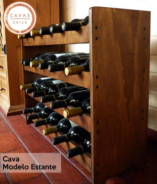 Cava modelo estante cavas for Estantes para vinos