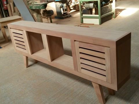 Muebles madera dise o roble for Bar de madera chile
