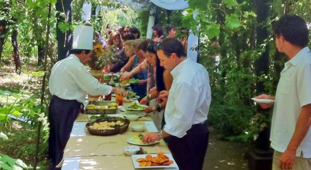 Matrimonio Catolico Al Aire Libre Chile : Asadosgourmet cl asados a domicilio cocktail