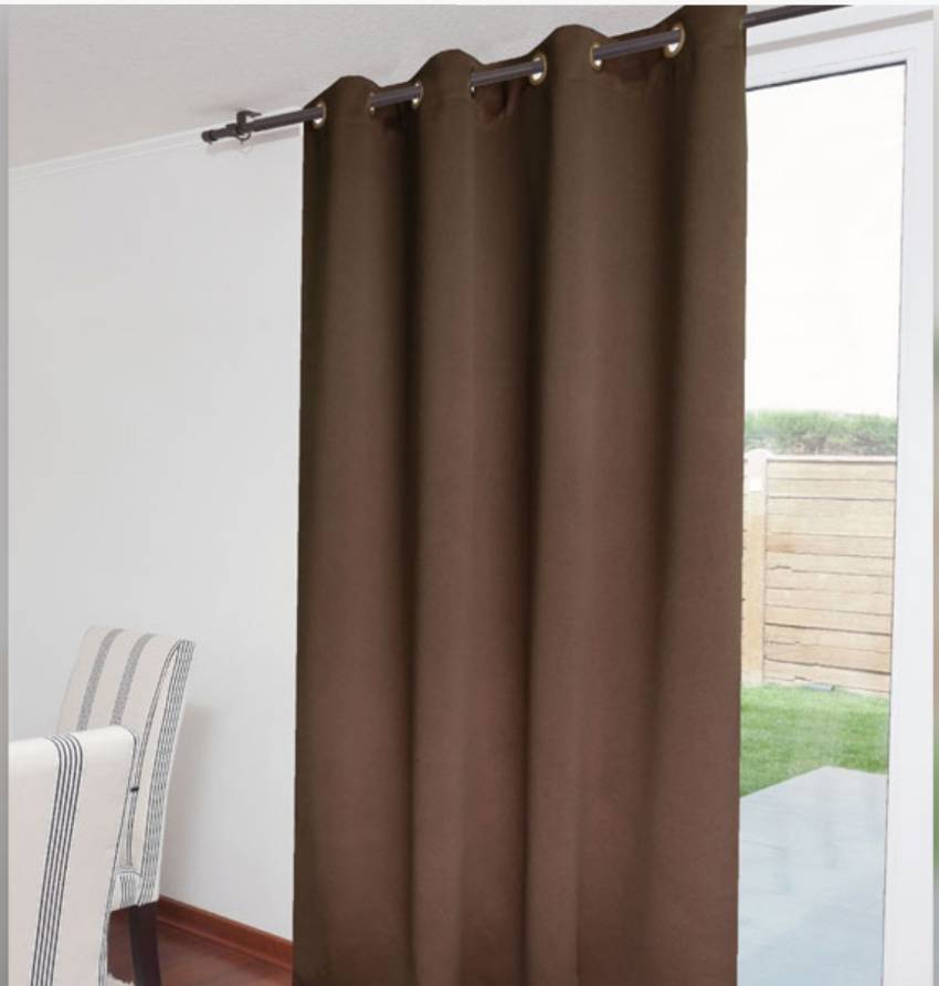 Cortinas termica black out con argollas cortinas termica for Cortinas con argollas