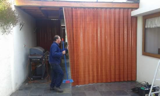 cortinas de madera a medida separador de ambientes somos fabricantes directos consultar avenida jorge caceres la cisterna a