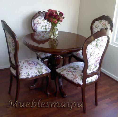 Muebles mueblesmaipu comedores for Comedores baratos en santiago