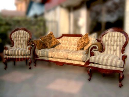 Juego sofa normando 2 for Muebles bio bio comedores